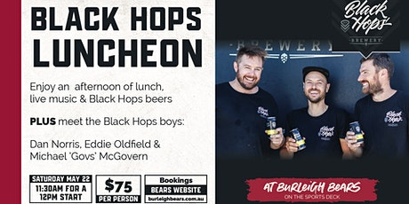 Black Hops Luncheon tickets