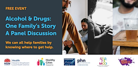 Alcohol and Drugs: One Family's Story tickets