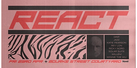 React - Bourke Street Courtyard tickets