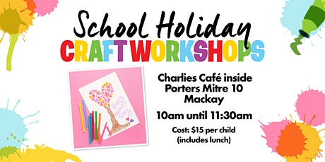 School Holiday Craft Workshops tickets