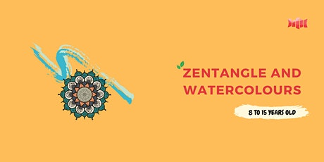 [Nowra Library] Holiday Activity - Zentangle and Watercolours tickets