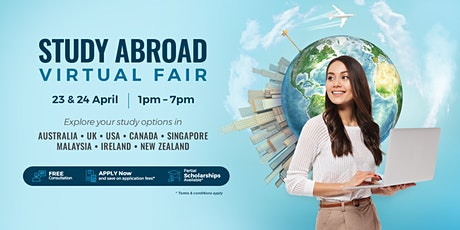 AUG Philippines: Study Abroad Virtual Fair 2021 tickets