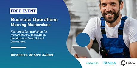 Business Operations Morning Masterclass | Free Breakfast Workshop tickets