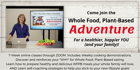 Whole Food Plant-Based Adventure tickets