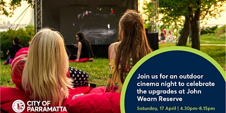 SOLD OUT John Wearn Reserve Outdoor Cinema Night tickets