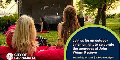 John Wearn Reserve Outdoor Cinema Night tickets