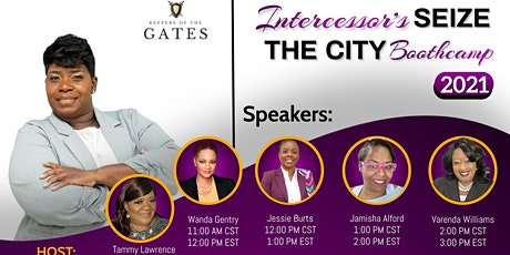 Intercessors Seize The City Boot Camp tickets