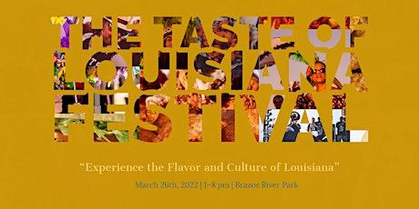 The Taste of Louisiana Festival 2022 tickets