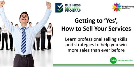 Getting to 'Yes', How to Sell Your Services tickets