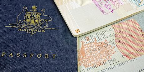 Updates Austrália: Fronteiras, Imigração e Intercâmbio tickets