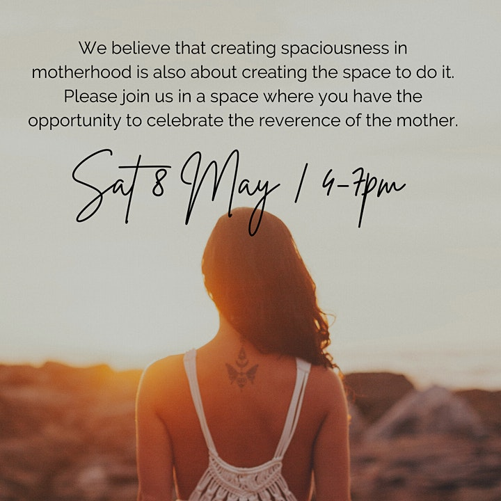 Mothers Day Eve Retreat - Sacred Mama Space image