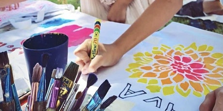 The Chroma Kids Active & Healthy April Holiday Fabric Painting tickets