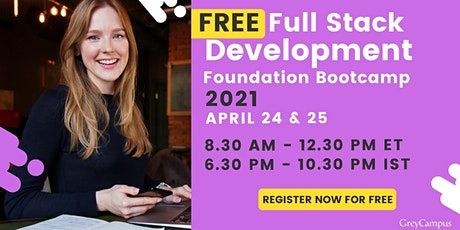 Free Fullstack Development Foundation Program tickets