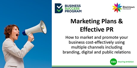 Marketing Plans and Effective PR tickets
