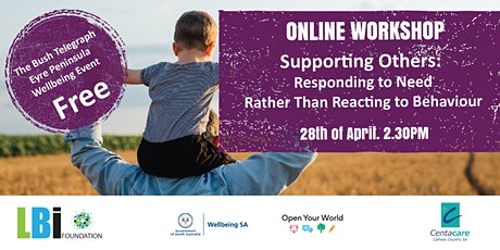 Supporting Others: Responding to Need, Rather Than Reacting to Behaviour tickets