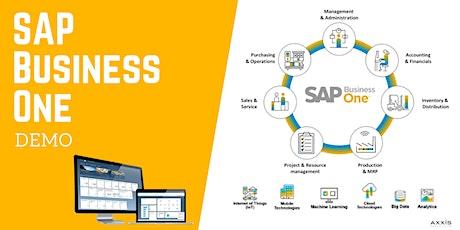 SAP Business One Demo Webinar tickets