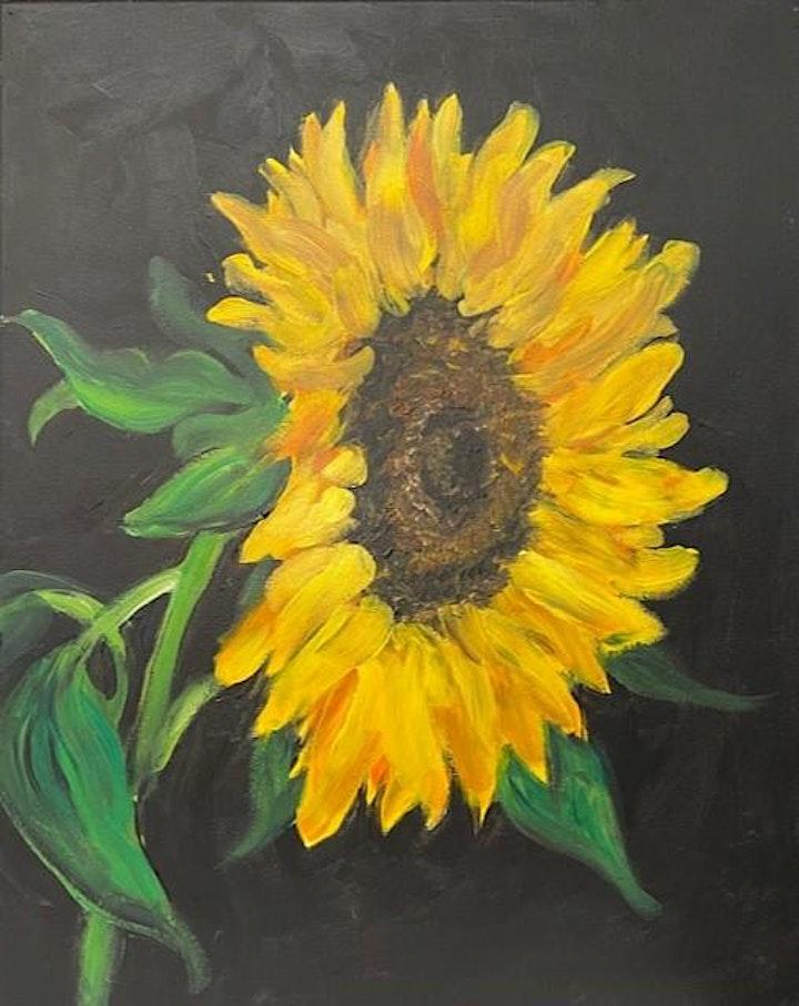Bubbles & Brush- Sunflower image