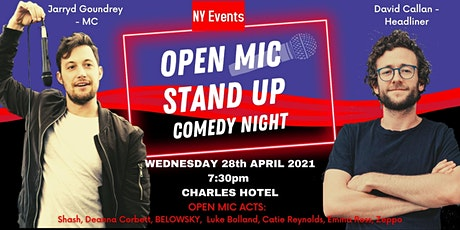 Open Mic Stand Up Comedy at The Charles tickets