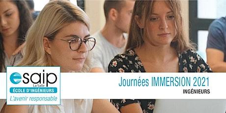 Journée immersion ESAIP Aix-en-Provence billets