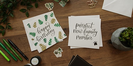 Modern Calligraphy Online Workshop tickets