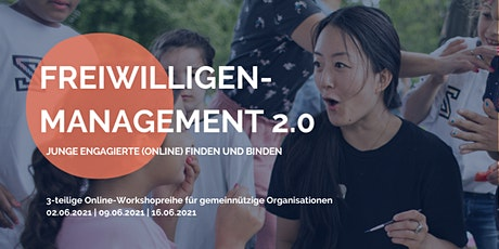 """Online-Workshopreihe """"Junge Freiwillige (online) finden und binden"""" Tickets"""