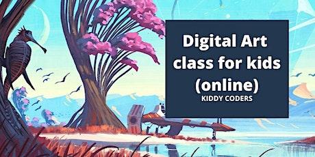 Digital and Fine Art class for kids - Demo Class tickets