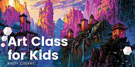 Art for kids - online demo class tickets