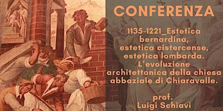 Conferenza prof. Luigi Schiavi biglietti