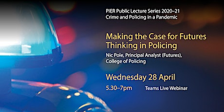 Making the Case for Futures Thinking in Policing tickets