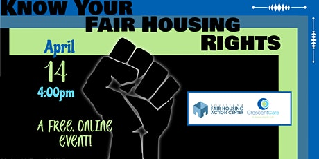 Know Your Fair Housing Rights tickets