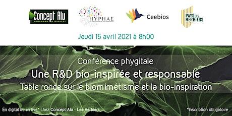Conférence HYPHAE / CEEBIOS : Pour une R&D bio-inspirée et responsable billets