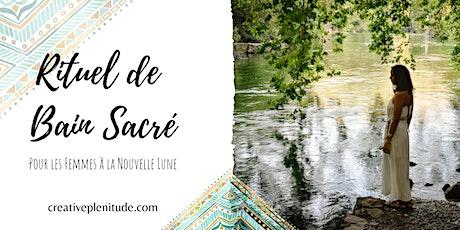 Rituel de Bain Sacré (Nouvelle Lune) tickets
