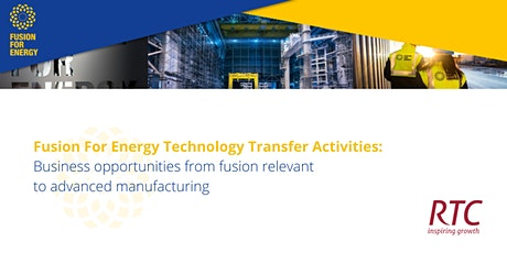 Fusion For Energy Technology Transfer Activities tickets