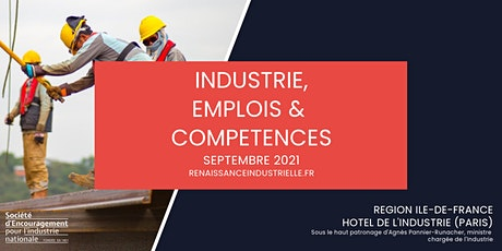INDUSTRIE, EMPLOIS & COMPETENCES en Ile de France tickets