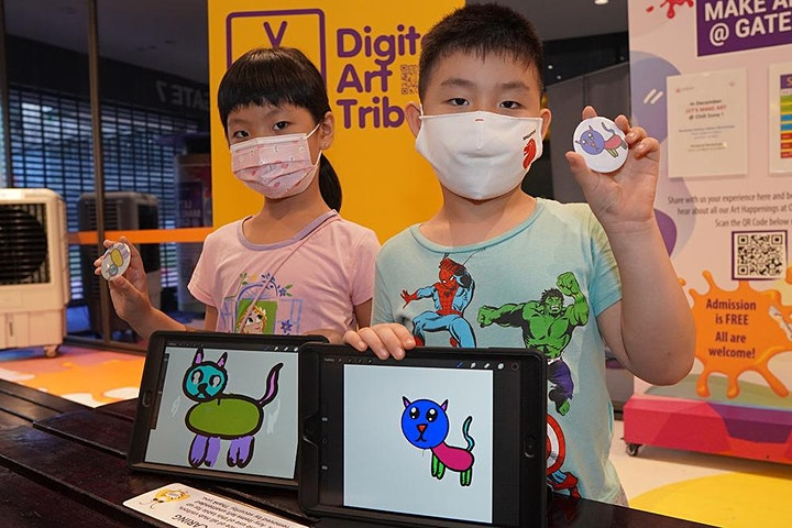 Animal Character Design Pop-up Station |Bishan Public Library's Anniversary image