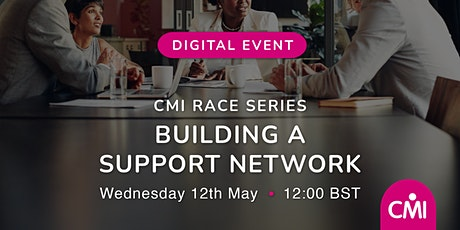 CMI Race: Building a Support Network tickets