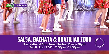 Salsa, Bachata & Brazilian Zouk Night tickets