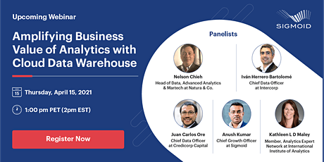Amplifying Business Value of Analytics with Cloud Data Warehouse tickets