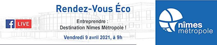 Image pour RDV ÉCO / Entreprendre : Destination Nîmes Métropole !