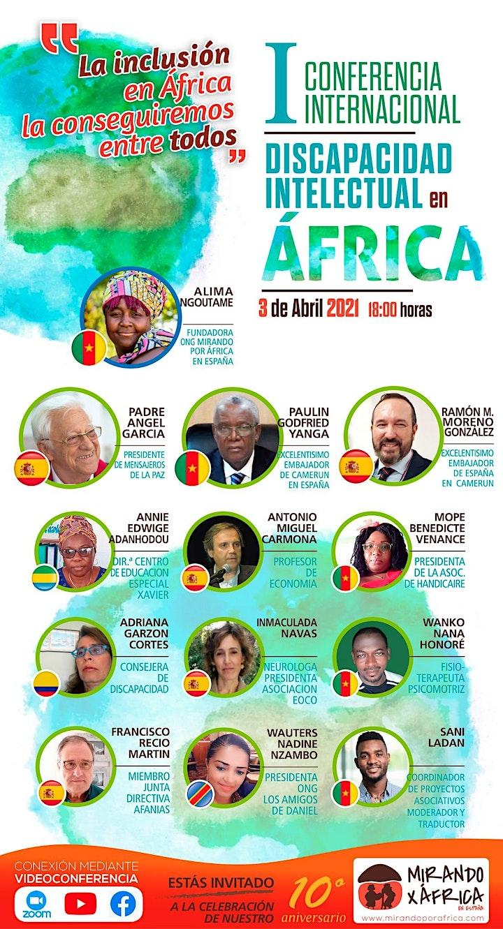 Imagen de I Conferencia Internacional Discapacidad Intelectual en África