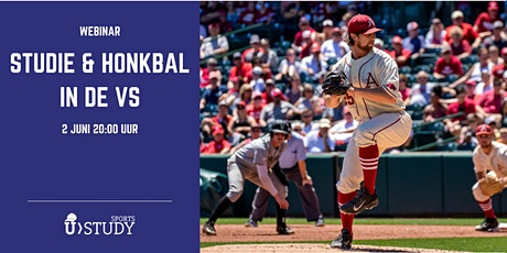 "Gratis webinar ""Studie en honkbal in de VS"" tickets"