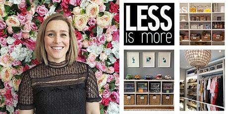 Secrets of a Professional Organizer- Spring Cleaning with Sarah Nelson biglietti
