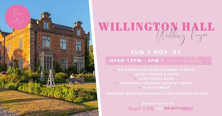 Willington Hall Wedding Fayre image