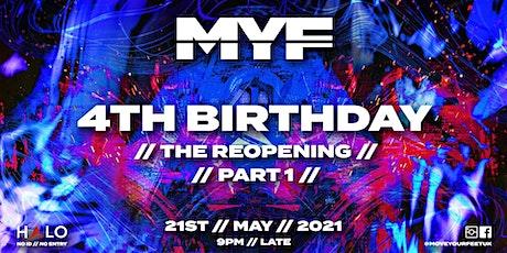 MYF 4th Birthday Part 1 tickets