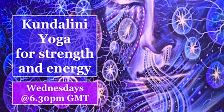 Online Kundalini Yoga for Strength and Energy tickets