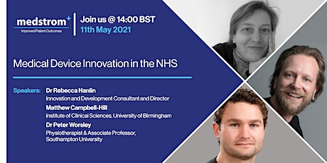 Medical device innovation in the NHS tickets