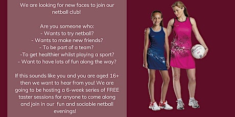 Belgrave Netball Free Taster Sessions tickets