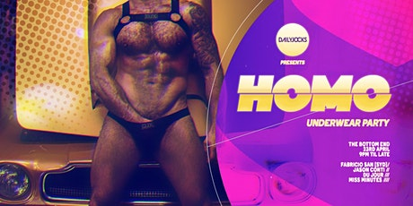 HO:MO - UNDERWEAR PARTY tickets