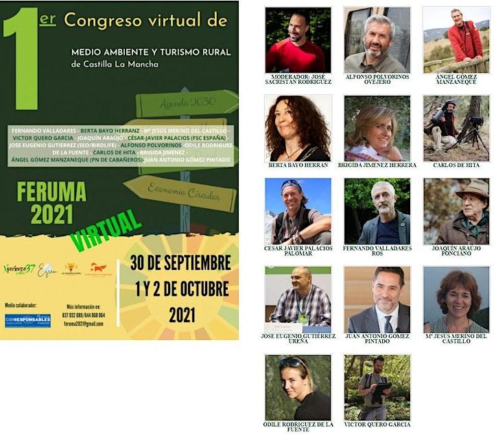 Imagen de FERUMA 2021 CONGRESO VIRTUAL  DE MEDIO AMBIENTE Y TURISMO RURAL DE CLM
