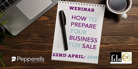 How To Successfully Prepare Your Business For Sale tickets